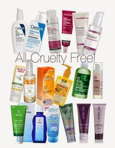 CRUELTY FREE Skin care  -click for the best cruelty free BRANDS LIST (MAKE UP AND COSMETIC 2014) | Beauty4Free2U
