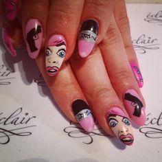 #eclair #eclairnail #nails #nailart #nailporn #nailswag