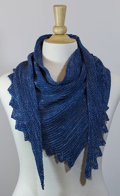 Ravelry: January Scarf pattern by JumperCablesKnitting - similar to Hitchhiker, but with some open work.