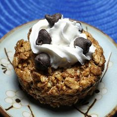 Cookie-Dough Oatmeal Cake (180 calories!)