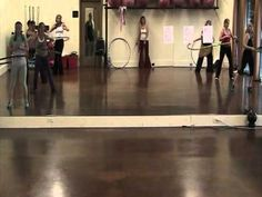 Inner Diva Hoop Troupe March Performance Class - YouTube