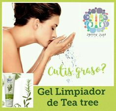 prevén el acné con gel limpiador de Tea tree de SWISSJUST Tea Tree, Doterra, Messages, Tips, How To Make, Santa Fe, Beauty, Relax, Face Care