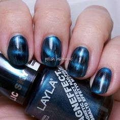 Layla Magneffect Polishes in Metallic Sky