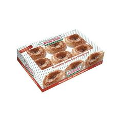 Krispy Kreme Pumpkin Spice Cake Doughnuts, 6 count Walmart.com ($50) ❤ liked on Polyvore featuring home ve kitchen & dining