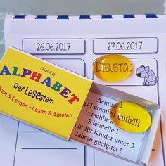Super Tipp für Leseanfänger: die magischen Lesesteine vergrößern nicht nur, sie legen durch die gelbe Farbe auch den Fokus auf das zu lesende Wort. Meine Förderkinder lieben sie und können damit magischerweise tatsächlich etwas besser lesen #lesenlernen #leseanfänger