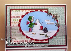 Bellariffic Friday – Mister Penguin Helps Ramona – Quixotic Cards