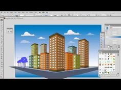 How to use the Perspective tools in Adobe Illustrator - YouTube