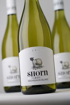 Shorn, New Zealand wine Wine Bottle Art, Wine Bottle Labels, Wine Design, Bottle Design, New Zealand Wine, Wine Names, Famous Wines, Champagne, Wine Brands