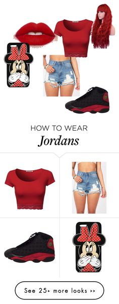 """""""i feel red today"""" by officialtiger on Polyvore featuring Forever 21"""