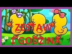 Piosenki dla dzieci NOWY ZESTAW 1 GODZINA piosenek dla dzieci - YouTube