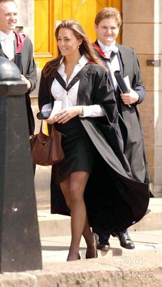 Karwai Tang-alpha-Globe Photos, Inc. 058306 06-23-2005 Kate Middleton Graduation Ceremony at St Andrews University in Fife, Scotland