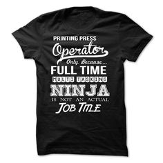 Printing Press Operator T-Shirts, Hoodies. Get It Now ==►…