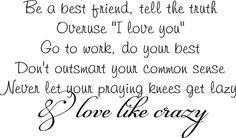 Love Like Crazy - Lee Brice <3
