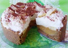 i love Banoffee. Banoffee Pie, Piece Of Cakes, Creative Cakes, Easy Peasy, Toffee, Cheesecakes, Nutella, Love Food, Deserts