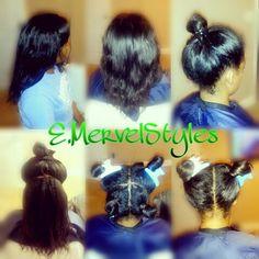 Vixen Sew In using Queen Virgin Remy Hair Extensions. #emervelstyles