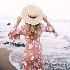 A straw hat is necessary this Spring.