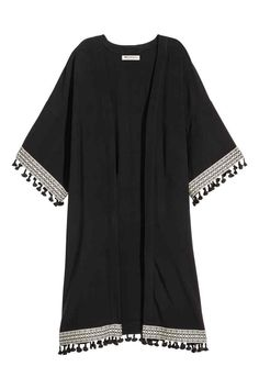 Kimono: H&M LOVES COACHELLA. Kimono en douce viscose tissée avec bandes…