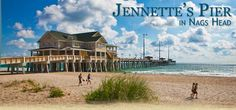 Jeanette's Pier in Nags Head of the Outer Banks. Love this place!