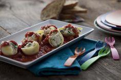 Give Them Something Better » Meatless Monday: Stuffed Shells with Tofu Ricotta