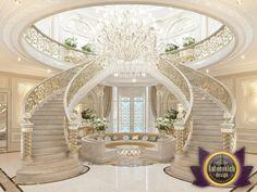 Villa Interior Design in Dubai, Villa interior design in Doha, Photo 2