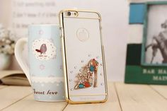 Laser etching diamond decoration case for 4.7inch iPhone 6 and 5.5inch iPhone 6 plus TPU transparent high quality cover case