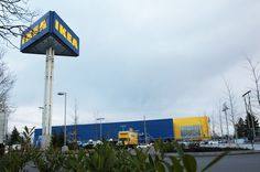 New Ikea opening in Richmond, BC April Wind Turbine, Places, Lugares