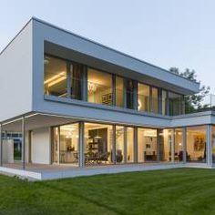 Musterhaus modern  Moderne Häuser Bilder: Musterhaus Bad Vilbel | Modern