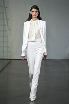 All white perfection. Rachel Zoe Fall 2015: The Complete Collection | The Zoe Report