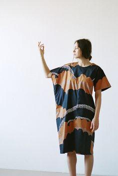 A Détacher Lil Dress in Puffy Clouds | Oroboro Store