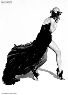High Fashion Poses | fashion, black dress, dress, high fashion, pose - inspiring picture on ...