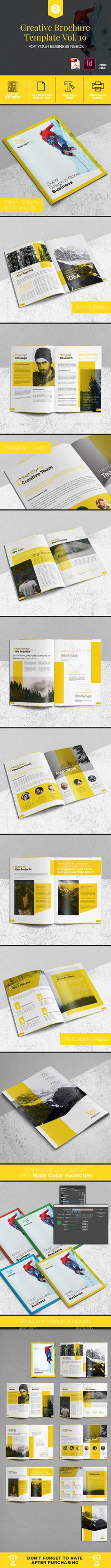 Creative Brochure Template Vol. 19