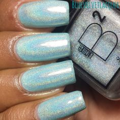 Blue Velvet Lacquer: B Squared Lacquer: Spring Cremes Collection- Swatches & Review