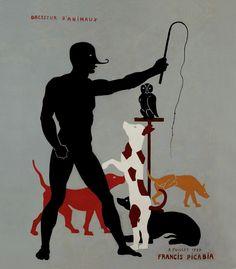 le cirque par Picabia