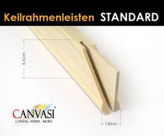 Keirahmenleisten Canvas Paper, Painting Tips, Art Tips, Wedges, Frame, Canvas