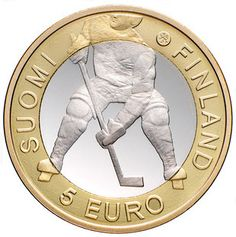 Finland - 2012 IIHF Ice Hockey World Championship coin.