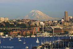 Seattle & Mt. Ranier