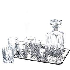 Klikel Ingrid 8 Piece Whiskey Set - 1 Decanter, 6 Dof Gla... https://www.amazon.com/dp/B00LF5KWKW/ref=cm_sw_r_pi_dp_x_Il3Xxb92ZW5PJ