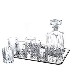 Klikel Ingrid 8 Piece Whiskey Set - 1 Decanter, 6 Dof Gla... https://www.amazon.com/dp/B00LF5KWKW/ref=cm_sw_r_pi_dp_x_Il3Xxb92ZW5PJ