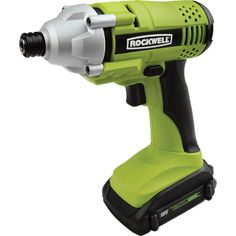 The Rockwell 18V Cordless LithiumTech 1/4in. Hex Impact Wrench features enhanced safety, comfort and performance. Its 1160 in.-lbs. of torque means it can drive screws and remove stubborn bolts with ease.