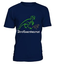 # Brothersaurus t-shirt .   Solid colors: 100% Cotton; Heather Grey: 90% Cotton, 10% Polyester; All Other Heathers: 65% Cotton, 35% Polyester Imported Machine wash cold with like colors, dry low heat Lightweight, Classic fit, Double-needle sleeve and bottom hem