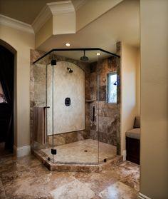 Pleasant Hill Tuscan - mediterranean - bathroom - san francisco - by Le Reve Design & Assoc.