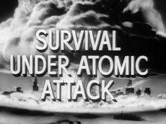 Godzilla: Survival Under Atomic Attack  - 1951 American Civil Defense Educational ...