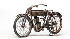 1911 Thor Single Belt Drive presented as lot S33. #Mecum #EJCole #Motorcycles #LasVegas