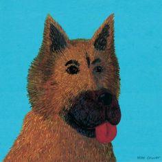 Oopsy Daisy - Delano Shepherd Canvas Wall Art 30x30, Max Grover