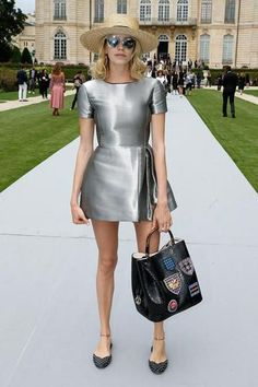 Christian Dior : Outside Arrivals - Paris Fashion Week : Haute-Couture Fall/Winter 2014-2015