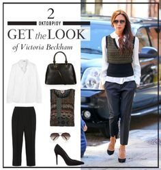 Get the look  Το κομψό πρωινό look της Victoria Beckham -JoyTV Office Looks 32a3a59e583