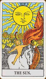 Tarot Card of the Month of April : The Sun
