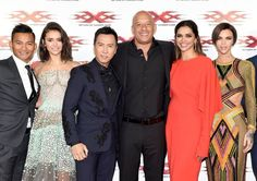 Vin Diesel, Donnie Yen, Tony Jaa, Deepika Padukone, Nina Dobrev, and Ruby Rose at an event for xXx: Return of Xander Cage (2017)