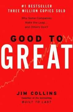 I found this book to present an interesting perspective on how to turn an organization from a good one to a great one.
