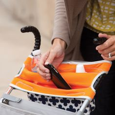 Stretch™ - insulated stroller storage for drinks, phone, glasses etc
